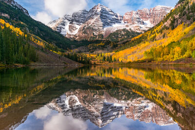 Maroon Bells,Aspen,Colorado,