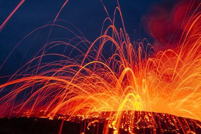 Lava-Kilauea Volcano
