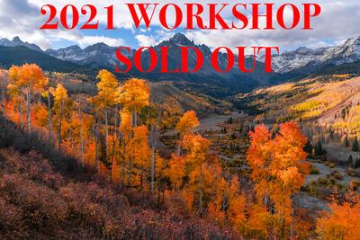 2021 Colorado Fall Color Photography Workshop - San Juan Mountains