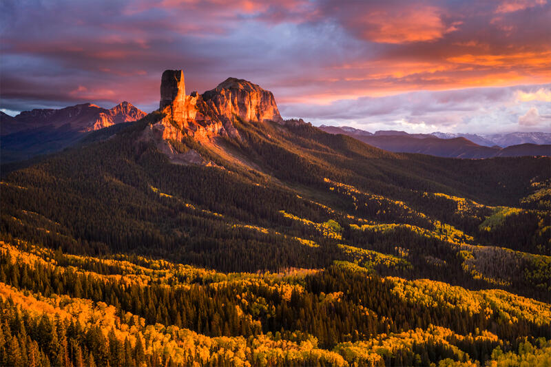 Chimney Rock Colorado Photos