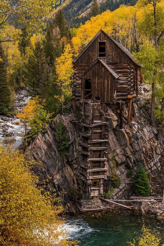 Crystal Mill Colorado Images