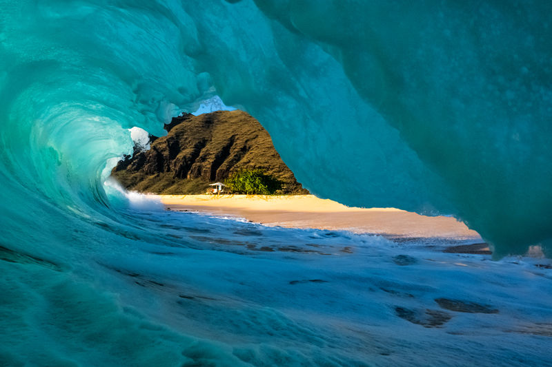 Wave Photographer Oahu Photography for Sale