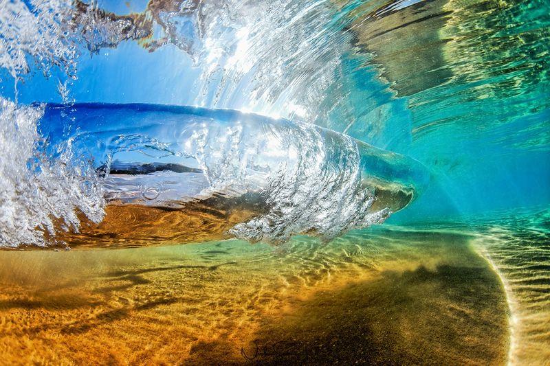 Underwater Wave Photography