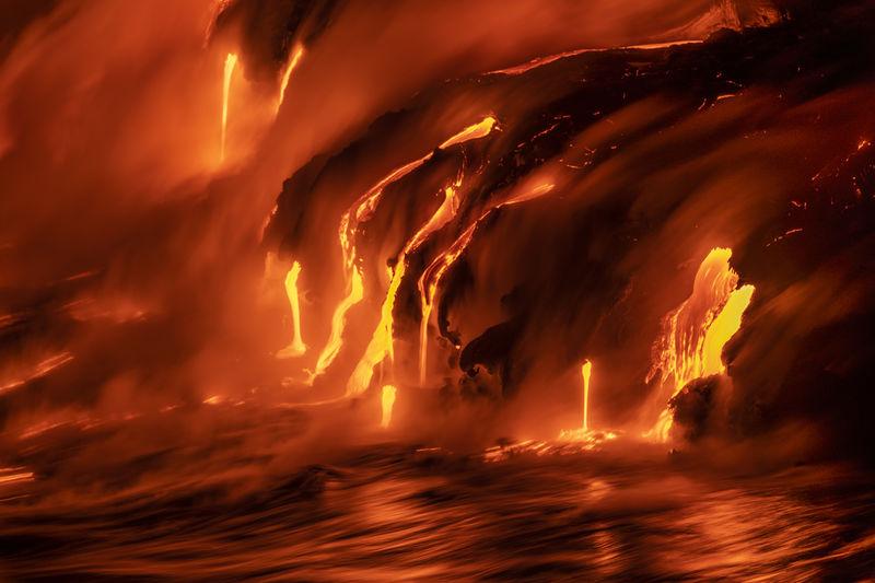 Kilauea Lava Flow Images for Sale
