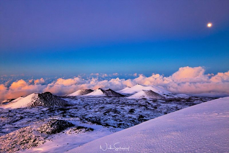 Mauna Kea Moonrise