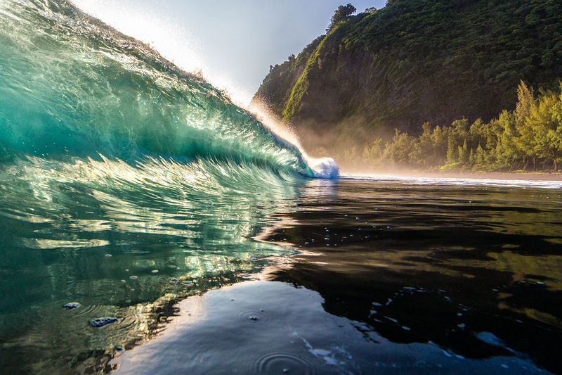 Waipio Valley Beach & Wave Images for Sale