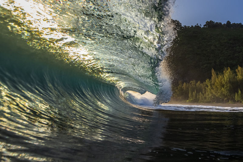 Waipio Valley Tidal Wave Photography for Sale