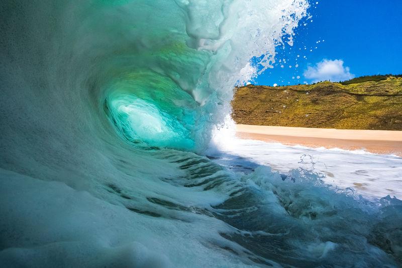 Yokohama Bay Waves Photography for Sale