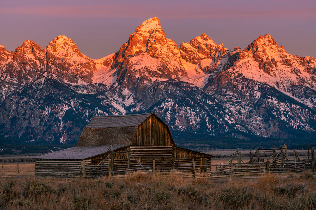 Mormon Row is an extremely historic area of Grand Teton National Park located in the SE corner of the park located on Mormon...