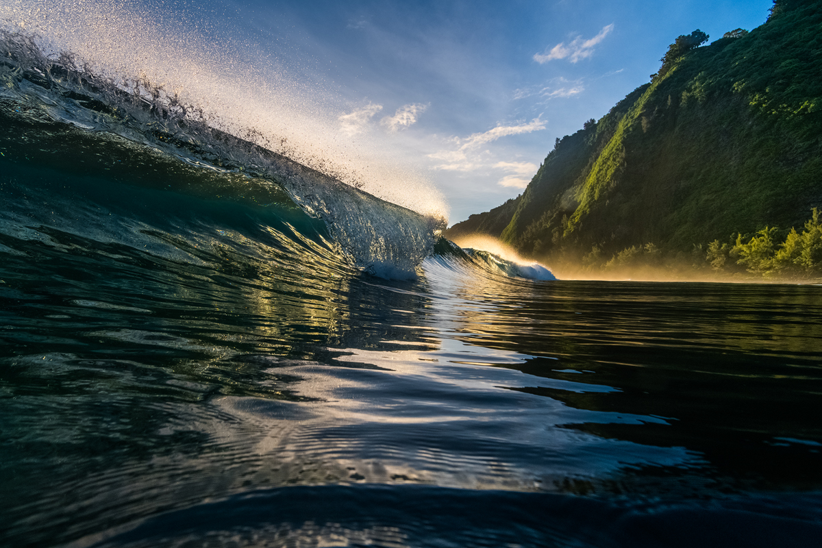 Sunset Wave Photography for Sale